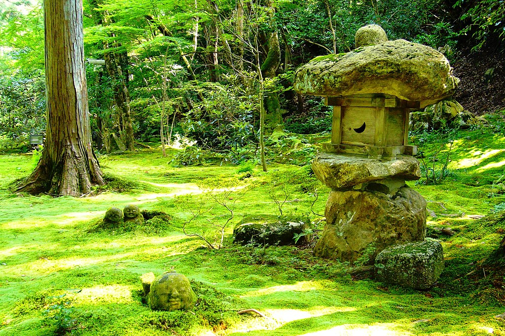 Sanzen-in, Yusei-en (Garden) -2 (July 2011) - panoramio