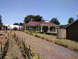 Sarah Onyango Obama - Image: Sarah Onyango home