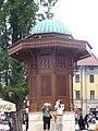 Sarajevo - Sebilj fountain.jpg