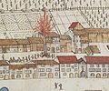 Sargans Torkelhaus 1811 beim Ausbruch des Stadtbrands.jpg