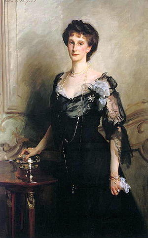 Evelyn Cavendish, Duchess of Devonshire - Portrait of Lady Evelyn Cavendish, John Singer Sargent (1902)
