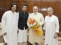 Sarod maestro Amjad Ali Khan meets PM Modi.jpg