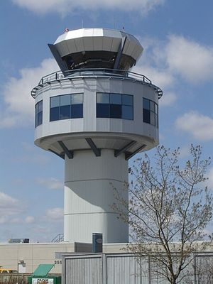 Saskatoon John G. Diefenbaker International Airport - NAV CANADA Control Tower Constructed in 2000