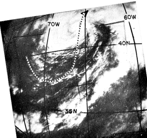 1962 Atlantic hurricane season - Image: Sat 196208291431zalma