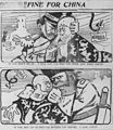 Satterfield cartoon about Russia and Japan threatening China.jpg