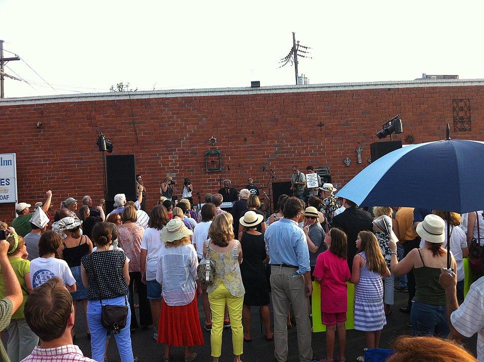Save the Picayune Allen Toussaint Rock Bowl Lot June 2012