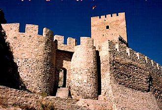 Sax, Alicante - Castle of Sax.