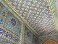 Sayyidah Zaynab shrine, hall tiles.JPG