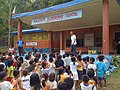 School orientation on correct use of urine separation toilet at elementary school in Baluarte (Cagayan de Oro, PH) (3342863768).jpg