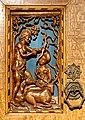 Schrank mit geschnitzten Motiven nach Albrecht Dürer (1510-20). 3.jpg