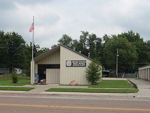 Scranton, Kansas - U.S Post Office in Scranton (2009)