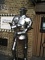 Sculpture of Medieval Soldier - geograph.org.uk - 1544607.jpg