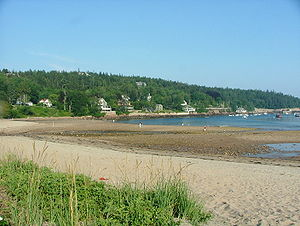 Seal Harbor in Acadia National Park, Maine.