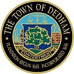 Sello de Dedham, Massachusetts.jpg