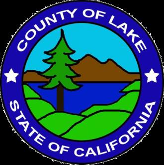 Lake County, California - Image: Seal of Lake County, California