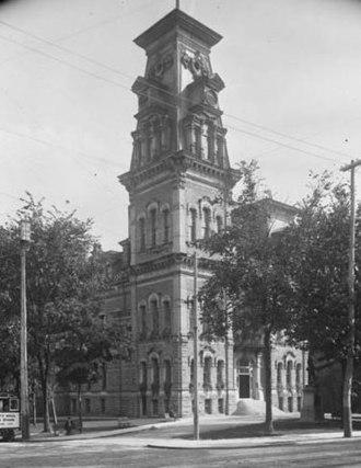 Second City Hall (Ottawa) - Ottawa's second City Hall