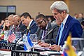 Secretary Kerry Reviews His Notes During a Plenary Session of the OAS General Assembly in Santo Domingo (27595273501).jpg