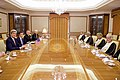 Secretary Kerry Sits Across From Omani Foreign Minister Yusuf bin Alawi at the Ministry of Foreign Affairs in Muscat (22798779818).jpg
