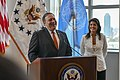 Secretary Pompeo Addresses Staff and Families from U.S. Mission to the UN (42817650654).jpg