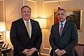 Secretary Pompeo Meets with Iraqi Prime Minister Al-Kadhimi (50244535528).jpg