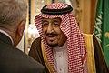 Secretary Pompeo Meets with Saudi King Salman in Jeddah (48119284576).jpg