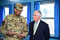 Secretary Tillerson Receives Briefing From Gen. Brooks During Tour of Joint Security Area of DMZ (32643176414).jpg