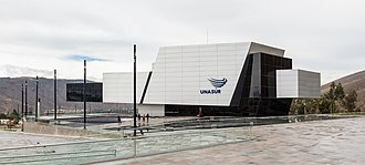 Ciudad Mitad del Mundo - UNASUR headquarters.