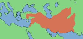Het Seleucidische Rijk ca. 300 v.Chr.