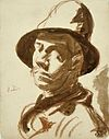 Self-Portrait with Hat by Theo van Doesburg AB4535.jpg
