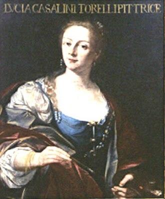 Lucia Casalini Torelli - Self-Portrait