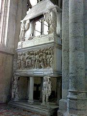 sepolcro di Ludovico Aldomorisco