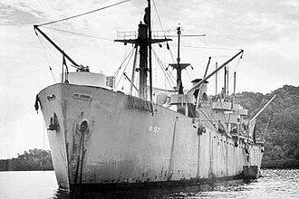 USS Serpens (AK-97) - Image: Serpens (AK 97)