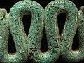 Serpiente bicéfala de mosaico de turquesa. British Museum. MPLC 03.jpg