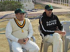 Shahid Anwar - Shahid Anwar (right)