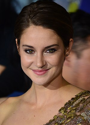 Shailene Woodley - Shailene Woodley at the film premiere of Divergent in 2014.