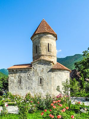 Shaki, Azerbaijan - Church of Kish in Shaki