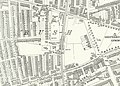 Shepherd's Bush station, map 1894.jpg
