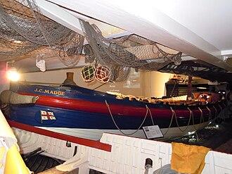 RNLB J C Madge (ON 536) - Image: Sheringham Lifeboat J C Madge ON536 Sheringham Museum 29 03 2010 (11)
