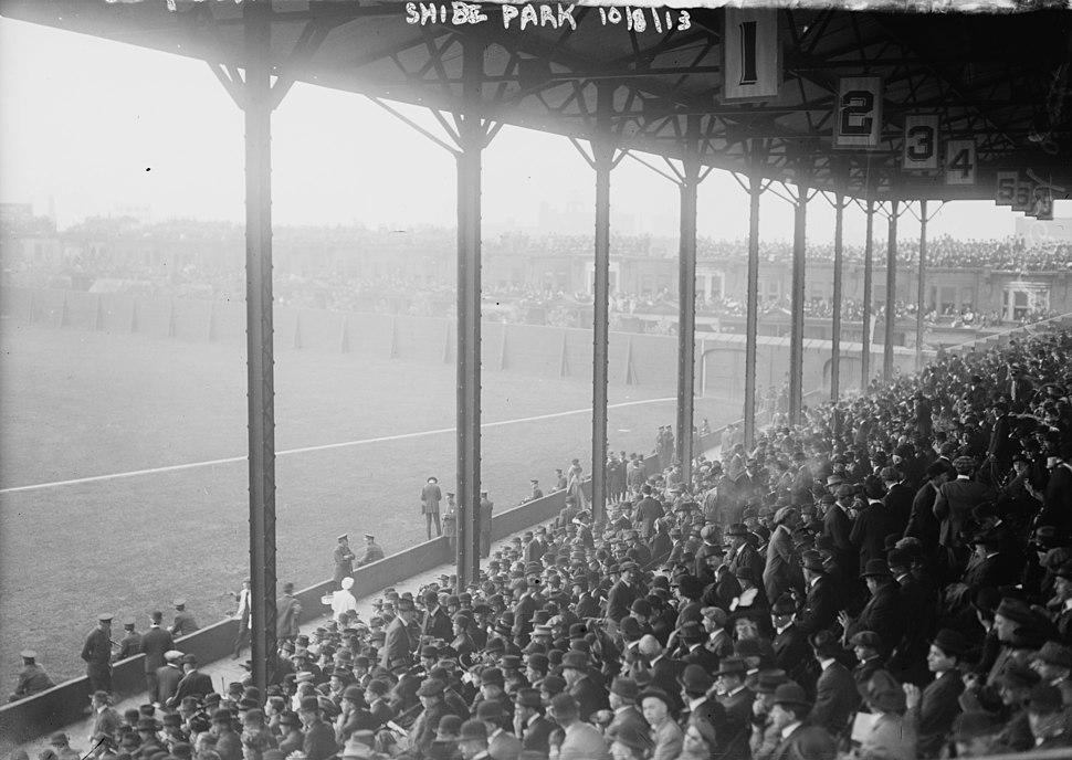 Shibe Park grandstand 1913