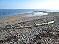 Shingle beach at the mouth of the Castletown River - geograph.org.uk - 980033.jpg