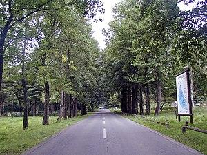 Minamiminowa, Nagano - Entry to Shinshu University Agricultural Department in Minamiminowa