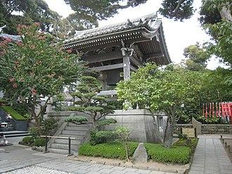 Hase-dera (Kamakura) - Image: Shoro Belfry in Hase dera
