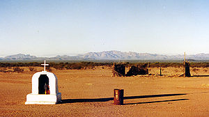 Tohono O'odham - Shrine at Covered Wells, Arizona