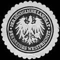 Siegelmarke Der Königliche Landrat des Kreises Westprignitz W0233663.jpg