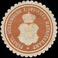 Siegelmarke Fürstl. Schaumburg Lippisches Katasteramt W0358650.jpg