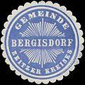Siegelmarke Gemeinde Bergisdorf Zeitzer Kreises W0379665.jpg