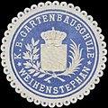 Siegelmarke K.Bayer. Gartenbauschule Weihenstephan W0352278.jpg