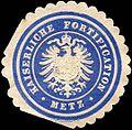 Siegelmarke Kaiserliche Fortification - Metz W0219362.jpg
