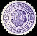 Siegelmarke Stadtschultheissenamt - Heidenheim W0229260.jpg