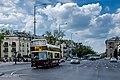 Sightseeing bus on György Dózsa Street, Budapest (10890108645).jpg